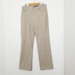 Simon Chang | Khaki Tan Casual Pants Straight 10